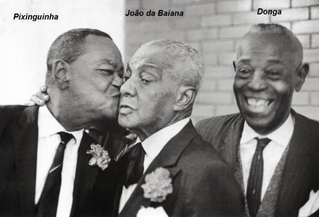 Pixinguinha, João da Baiana e Donga